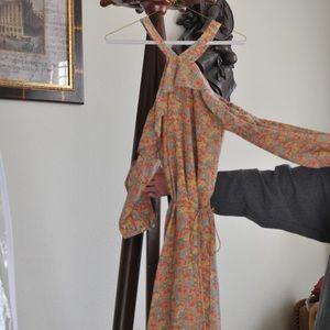Madewell floral dress